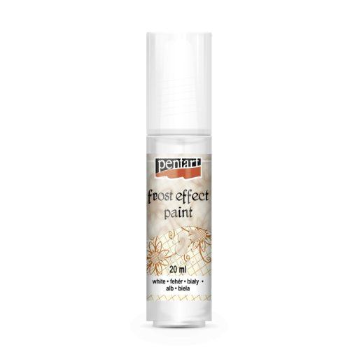 Pentart szatináló üvegfesték 20 ml - Fehér