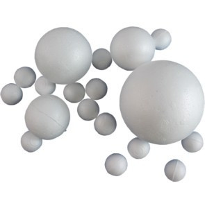 Polisztirol / hungarocell gömb 8cm-es