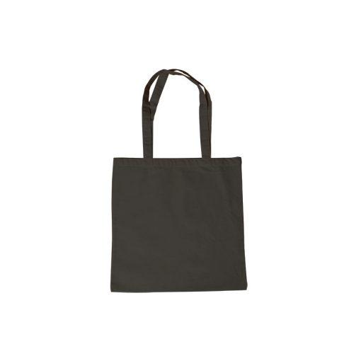 Lenvászon bevásárlószatyor fekete hosszúfülű 38 x 42 cm 29921
