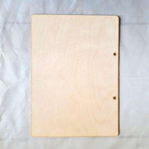 Fa könyvborító, felfűzhető A/4 5325 C