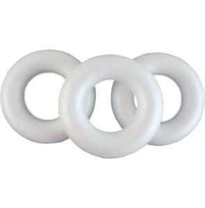 Polisztirol / hungarocell koszorú 15 cm,