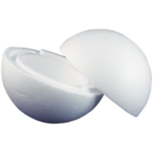 Polisztirol / hungarocell gömb 20 cm-es (két részes)