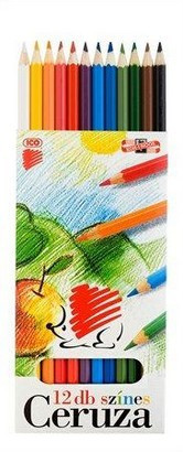 12 db-os színes ceruza készlet ICO SÜNI 18326
