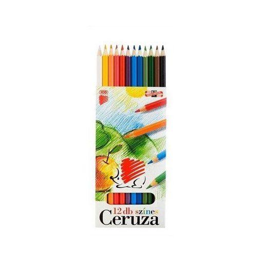 12 db-os színes ceruza készlet ICO SÜNI F34001K12/18326