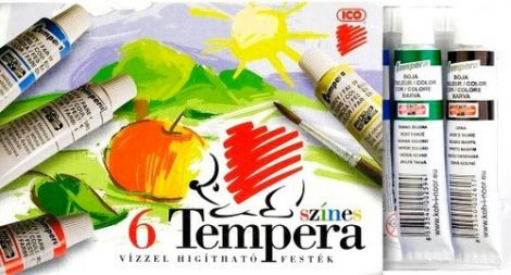 Tempera ICO SÜNI, 6 db-os 16ml 18825
