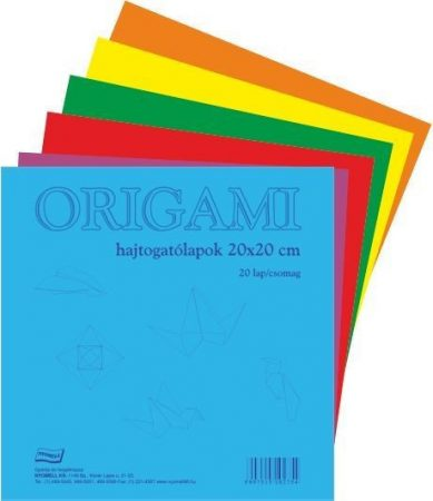 Origami papír A/4 10 lap/cs 24946