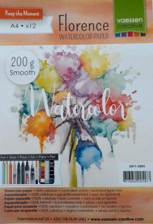 Akvarell papír A/4 300gr 10/cs 36308