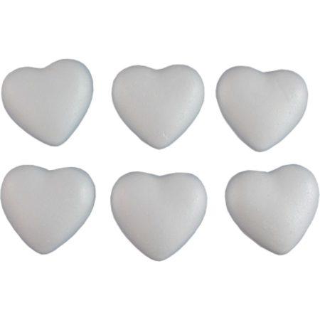 Polisztirol / hungarocell szív 7 cm