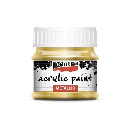 Pentart metál akrilfesték, 50 ml, 32 színben