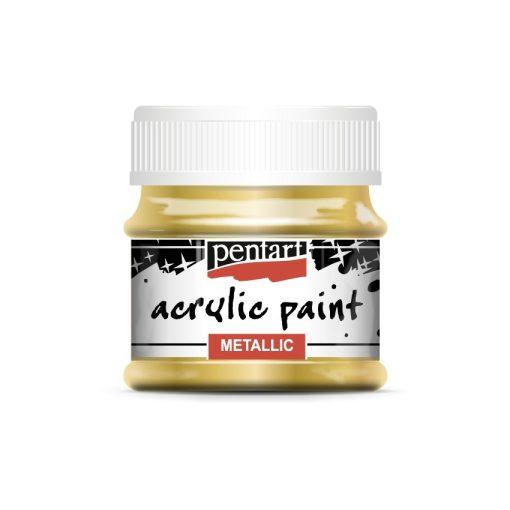 Pentart metál akrilfesték, 50 ml, 25 színben