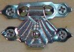 Zár ezüst 3*2cm 1065e C