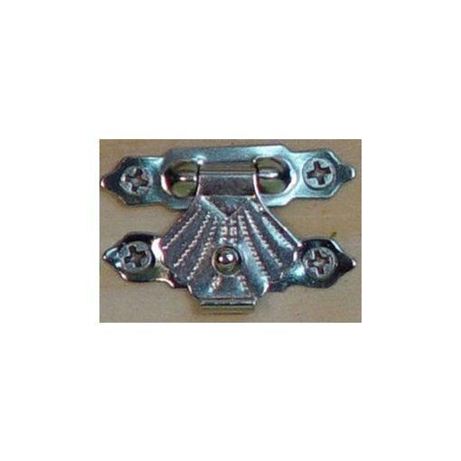Zár szögekkel, ezüst 3*2cm 5/cs 1065e C