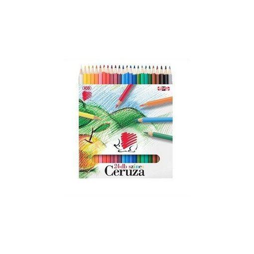 24 db-os színes ceruza készlet ICO SÜNI F34001K24/18479