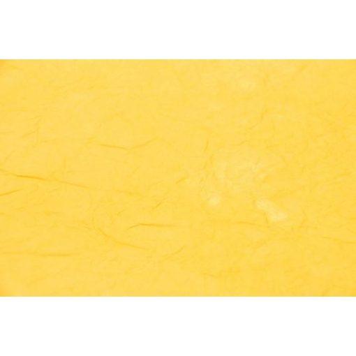 Gyűrt / merített papír, mintás, 60*80cm - Sárga  12453
