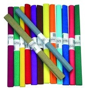 Krepp papír 50*200 cm, 20 színben