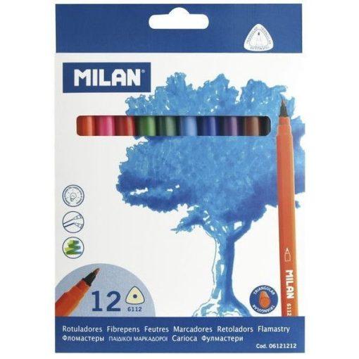 Filctoll készlet 12db-os, háromszög Milan F21174K12/ 15920