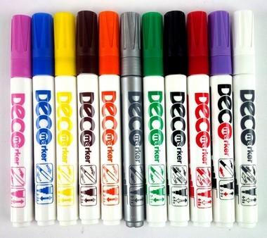 Lakkfilc / Decomarker ICO 2-4mm, 12 színben F24001100/16289