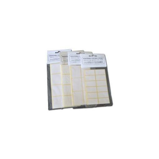 Etikett címke, öntapadós, 3*2cm-es 60db/cs 27138