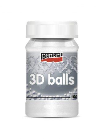 Pentart 3D golyó, 100 ml 2 méretben