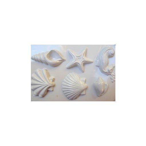 Gipszkiöntő 26*20cm, tengeri formák 6db-os 162