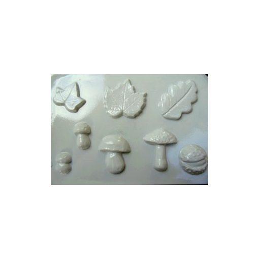 Gipszkiöntő, 26*20 cm, őszi formák 8db-os 010