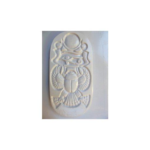 Gipszkiöntő, 26*20 cm, egyiptomi kép Szkarabeusz 146