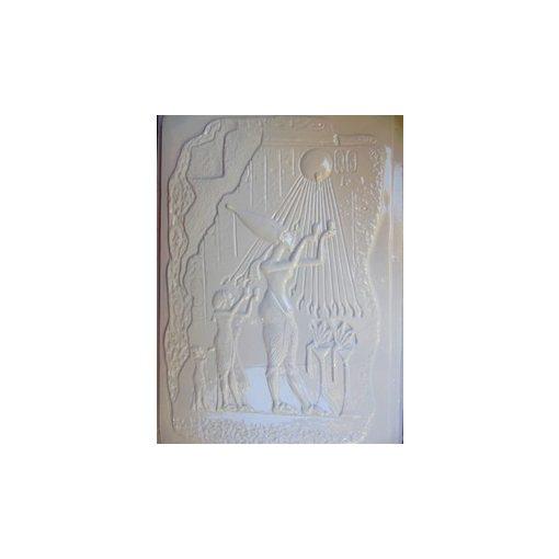 Gipszkiöntő, 26*20 cm, egyiptomi - Aton napisten 176