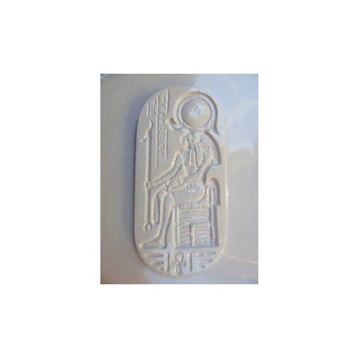 Gipszkiöntő, 26*20 cm, egyiptomi kép Ré napisten 141
