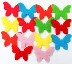 Filcfigura pillangók, mini 14db/cs, kb.3cm 23221