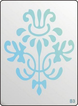 3D Stencil / sablon, 20*15*1 mm-es, S3