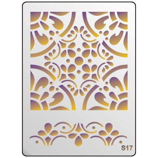 3D Stencil / sablon, 20*15*1 mm-es, S17
