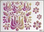 3D Stencil / sablon, 20*15*1 mm-es, S27