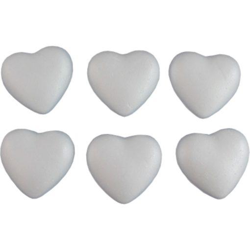 Polisztirol / hungarocell szív 5 cm 4652
