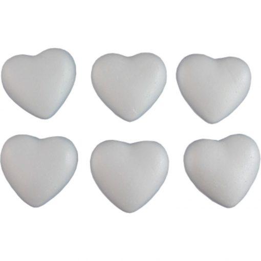 Polisztirol / hungarocell szív 15 cm 4653