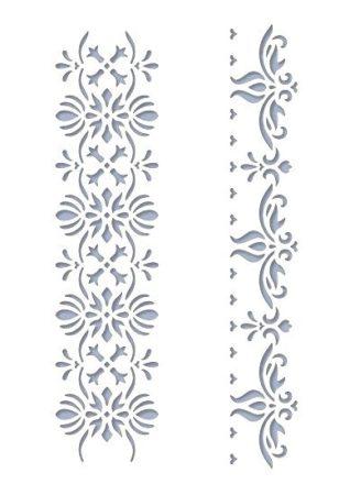 Stencil / Sablon HDS15-073 15*20cm*0,1mm Sorminta-01