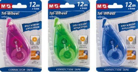 Hibajavító roller M&G TriWheel 5mm*12m G13774TRI