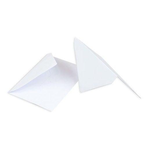 Névjegyboriték fehér, 7*11,7 cm, enyvezett 27061