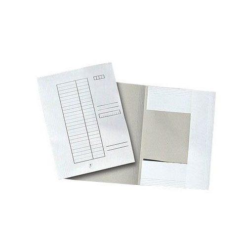 Pólyás dosszié A/4  - Fehér 25902