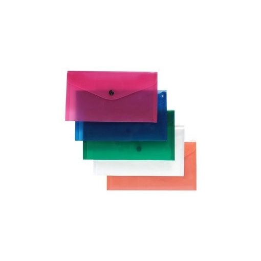Irattartó tasak/ csekktartó LA/4 patentos több színben 96089