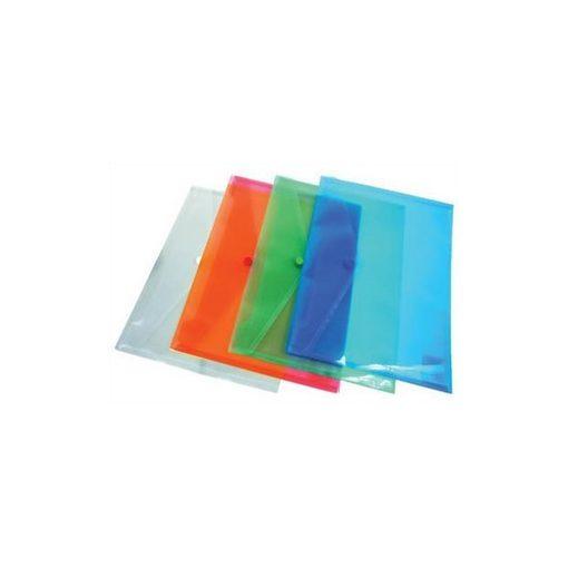 Irattartó tasak A/5 patentos, több színben 96087