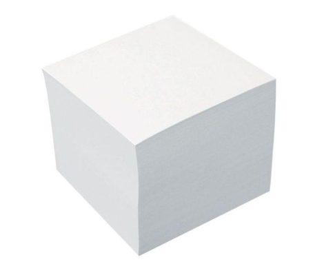 Tépőtömb 10*10*9 cm, fehér A23152500/ 75443