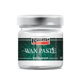 Pentart viaszpaszta WAX 30 ml, színtelen