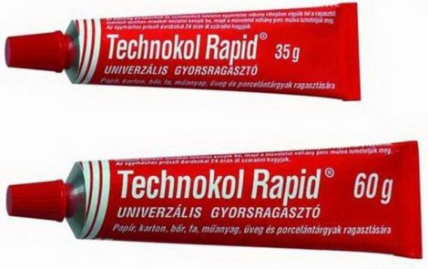 Ragasztó Technokol piros 35g G14903435/19801