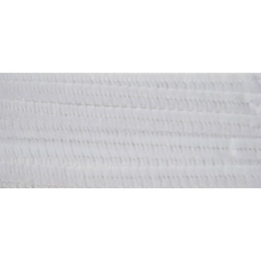 Zsenília drót 30 cm 10/cs  - Fehér