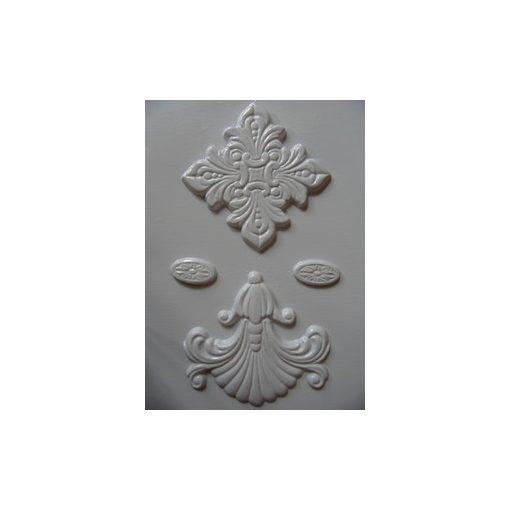 Gipszkiöntő 26*20cm, ornamentikus minták 093