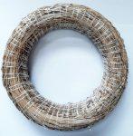 Koszorú alap, szalma 20 cm 40-1025a C