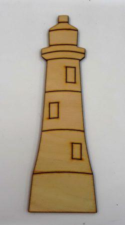 Fa világítótorony 15,5*5,5cm C6085