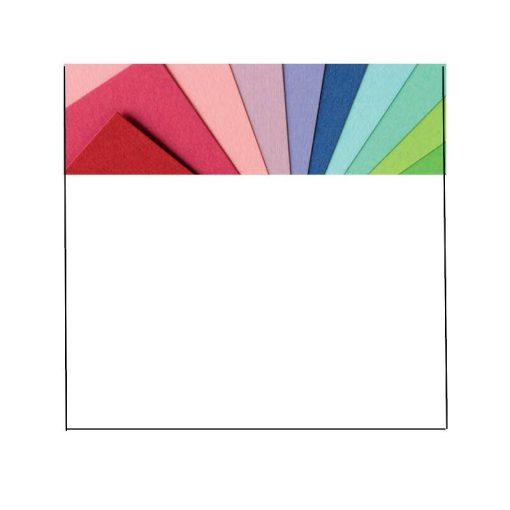Barkácskarton A/2 50*70cm,300g, mindkét old. színes, 26 színben
