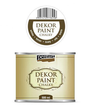 Pentart Dekorfesték / krétafesték 500 ml 15 színben