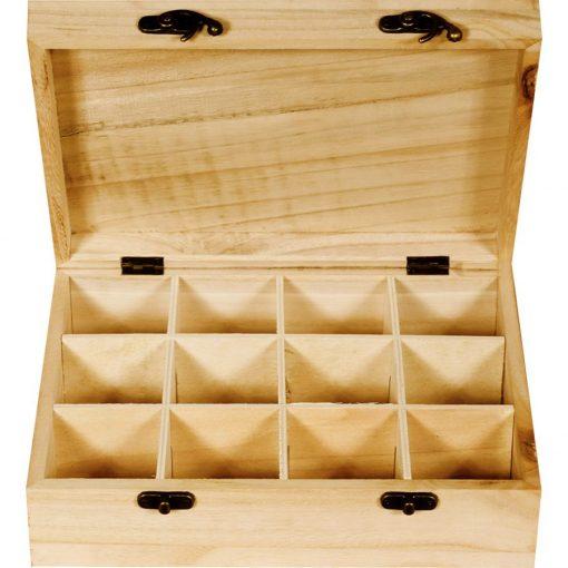 Teafilter tartó 12 rekeszes 26*21*8 cm 5806 / C6924